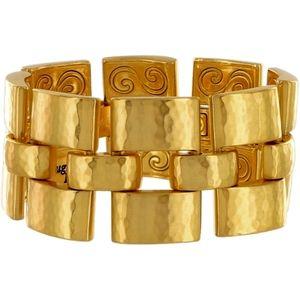 BRIGHTON~dauphin versailles brushed gold~BRACELET